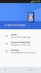 Samsung I9195 Galaxy S4 Mini LTE - E-Mail - Konto einrichten (gmail) - Schritt 7