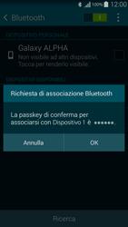 Samsung G850F Galaxy Alpha - Bluetooth - Collegamento dei dispositivi - Fase 7