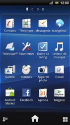 Sony Xperia Neo V - Messagerie vocale - Configuration manuelle - Étape 3