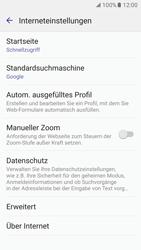 Samsung Galaxy S7 - Datenschutz und Sicherheit - Datenschutzeinstellungen des Browsers ändern - 8 / 18