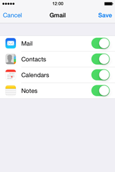 Apple iPhone 4S iOS 7 - E-mail - 032a. Email wizard - Gmail - Step 10