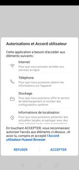 Huawei P30 - Internet et connexion - Naviguer sur internet - Étape 5