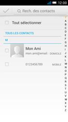 Alcatel OT-6012X Idol Mini - MMS - envoi d