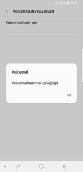 Samsung Galaxy S9 - Voicemail - Handmatig instellen - Stap 9