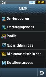 Samsung Jet - MMS - Manuelle Konfiguration - 0 / 0