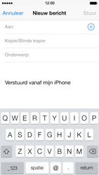 Apple iPhone 5s - E-mail - E-mails verzenden - Stap 4