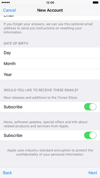 Apple iPhone 6 Plus iOS 9 - Applications - Setting up the application store - Step 17