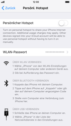 Apple iPhone 6s - Internet - Mobilen WLAN-Hotspot einrichten - 2 / 2