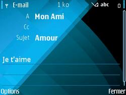 Nokia E71 - E-mail - envoyer un e-mail - Étape 9