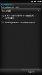 Sony LT26i Xperia S - E-mail - Handmatig instellen - Stap 15