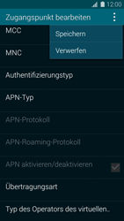 Samsung Galaxy S5 - Internet - Apn-Einstellungen - 2 / 2