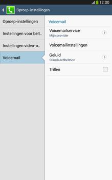 Samsung T315 Galaxy Tab 3 8-0 LTE - Voicemail - Handmatig instellen - Stap 7