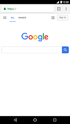 LG Nexus 5X - Android Oreo - Internet - Internet browsing - Step 14