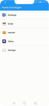 Huawei Honor Play - E-Mail - Konto einrichten (outlook) - Schritt 5