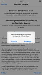 Apple iPhone 6 Plus - Applications - Créer un compte - Étape 12