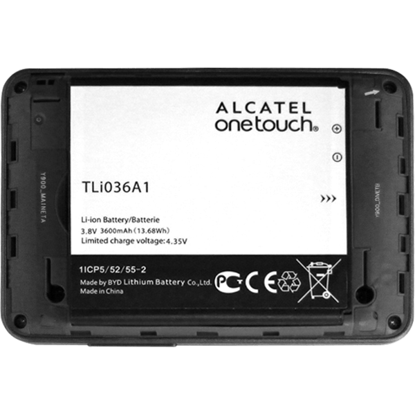 Alcatel MiFi Y900 - Modem - Inserting the SIM and SD card - Step 3