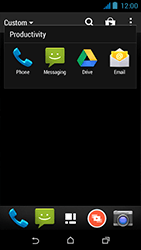 HTC Desire 310 - Voicemail - Manual configuration - Step 4