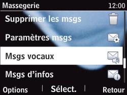 Nokia Asha 201 - Messagerie vocale - configuration manuelle - Étape 6