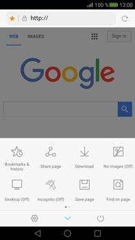 Huawei Mate S - Internet - Internet browsing - Step 14
