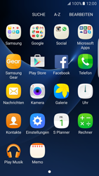 Samsung Galaxy S7 Edge - Apps - Einrichten des App Stores - Schritt 3