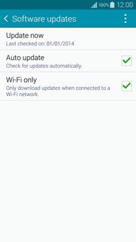 Samsung Galaxy Note 4 - Software - Installing software updates - Step 7