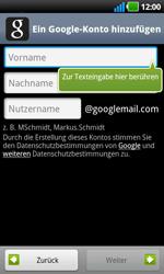 LG Optimus Black - Apps - Konto anlegen und einrichten - 6 / 19