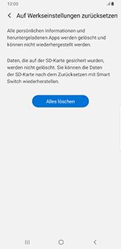 Samsung Galaxy Note9 - Android Pie - Gerät - Zurücksetzen auf die Werkseinstellungen - Schritt 8
