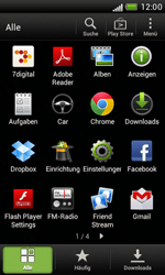 HTC Desire X - Internet und Datenroaming - Deaktivieren von Datenroaming - Schritt 3