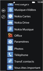 Nokia Lumia 800 - Internet et connexion - Désactiver la connexion Internet - Étape 3