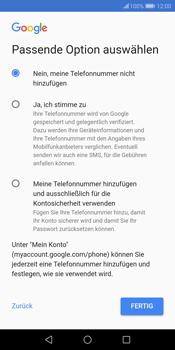 Huawei P Smart - Apps - Konto anlegen und einrichten - 15 / 20