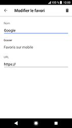 Sony Xperia XA2 - Internet et connexion - Naviguer sur internet - Étape 11