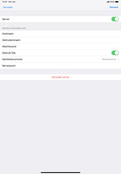 Apple ipad-pro-11-inch-2018-model-a1934 - E-mail - Account instellen (POP3 met SMTP-verificatie) - Stap 18