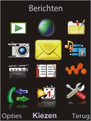 Sony W595 - E-mail - E-mails verzenden - Stap 3