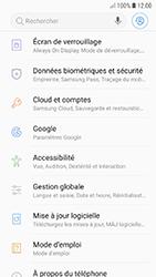 Samsung A520F Galaxy A5 (2017) - Android Oreo - Appareil - Réinitialisation de la configuration d