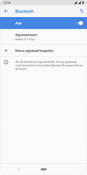 Nokia 3.1 Plus - Android Pie - bluetooth - aanzetten - stap 8