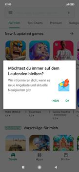 Xiaomi RedMi Note 7 - Apps - Einrichten des App Stores - Schritt 20