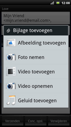 Sony Xperia Arc - E-mail - E-mails verzenden - Stap 8