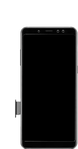 Samsung Galaxy A8 - Premiers pas - Insérer la carte SIM - Étape 3