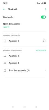 Oppo A15 - Internet et connexion - Connexion avec un équipement multimédia via Bluetooth - Étape 9
