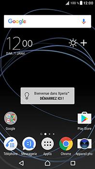 Sony Xperia XA1 Ultra - Premiers pas - Découvrir les touches principales - Étape 1