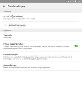 Samsung Galaxy Tab A 9.7 (SM-T555) - E-mail - Instellingen KPNMail controleren - Stap 7