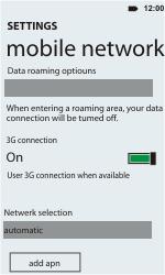 HTC C110e Radar - Internet - Manual configuration - Step 6