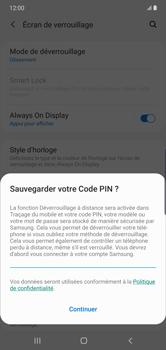 Samsung Galaxy Note10 Plus - Sécurité - activéz le code PIN de l'appareil - Étape 12