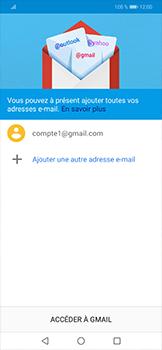 Huawei Mate 20 lite - E-mails - Ajouter ou modifier votre compte Gmail - Étape 12