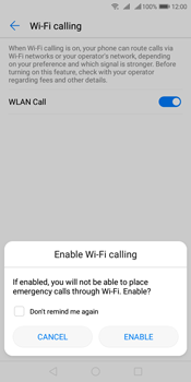 Huawei Y7 (2018) - WiFi - Enable WiFi Calling - Step 8
