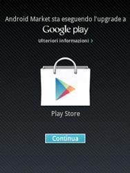 Samsung Galaxy Y - Applicazioni - Configurazione del negozio applicazioni - Fase 16