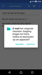 Sony Xperia XA (F3111) - Android Nougat - E-mail - E-mails verzenden - Stap 11