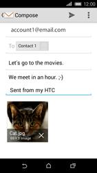 HTC Desire 320 - E-mail - Sending emails - Step 18