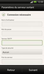 HTC Desire X - E-mail - Configuration manuelle - Étape 13