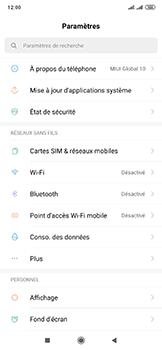 Xiaomi Mi Mix 3 5G - WiFi - Comment activer un point d'accès WiFi - Étape 3